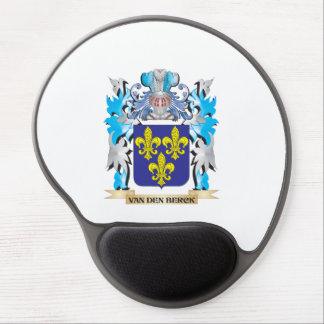 Van-Den-Berck Coat of Arms - Family Crest Gel Mouse Pad
