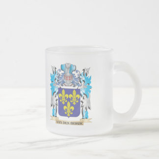 Van-Den-Berck Coat of Arms - Family Crest Frosted Glass Mug