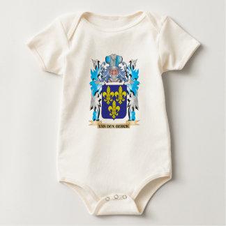 Van-Den-Berck Coat of Arms - Family Crest Baby Bodysuits