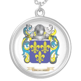 Van den Berck Family Crest (Coat of Arms) Necklaces