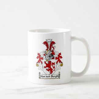 Van den Bergh Family Crest Coffee Mug