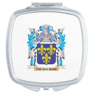 Van-Den-Berk Coat of Arms - Family Crest Makeup Mirror