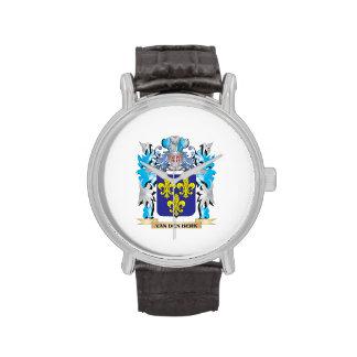 Van-Den-Berk Coat of Arms - Family Crest Wristwatch
