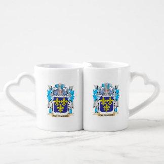 Van-Den-Berk Coat of Arms - Family Crest Lovers Mug Set