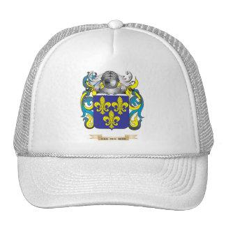 Van den Berk Family Crest (Coat of Arms) Mesh Hat