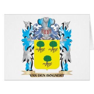 Van-Den-Bogaert Coat of Arms - Family Crest Big Greeting Card