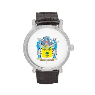 Van-Den-Bogaert Coat of Arms - Family Crest Wristwatch
