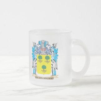 Van-Den-Bogaert Coat of Arms - Family Crest Frosted Glass Mug