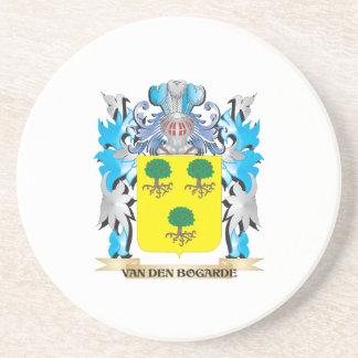 Van-Den-Bogarde Coat of Arms - Family Crest Beverage Coasters