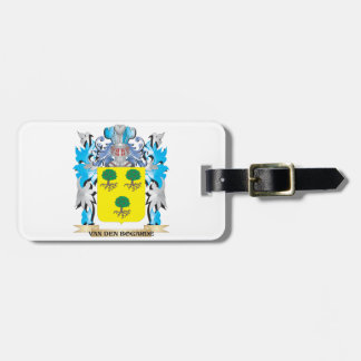 Van-Den-Bogarde Coat of Arms - Family Crest Luggage Tag