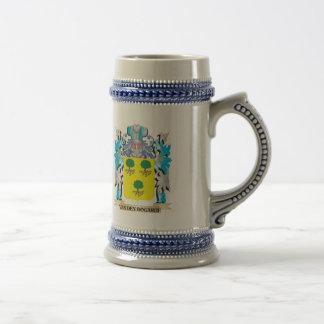 Van-Den-Bogarde Coat of Arms - Family Crest Beer Steins