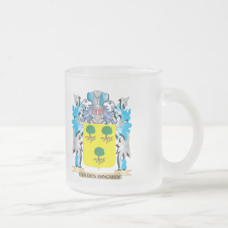 Van-Den-Bogarde Coat of Arms - Family Crest Frosted Glass Mug