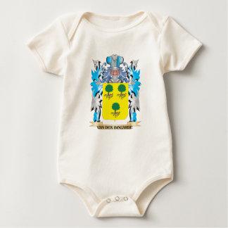 Van-Den-Bogarde Coat of Arms - Family Crest Baby Bodysuits