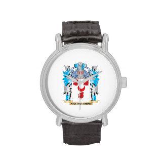 Van-Den-Brink Coat of Arms - Family Crest Wrist Watches