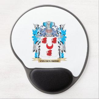 Van-Den-Brink Coat of Arms - Family Crest Gel Mouse Pad