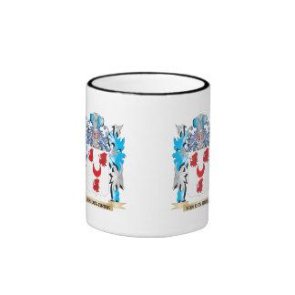Van-Den-Brink Coat of Arms - Family Crest Ringer Mug