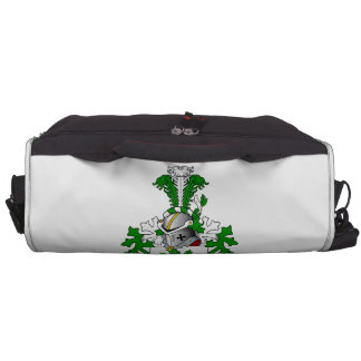 Van den Brinks Family Crest Laptop Messenger Bag