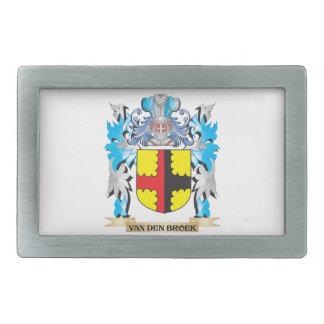 Van-Den-Broek Coat of Arms - Family Crest Belt Buckle