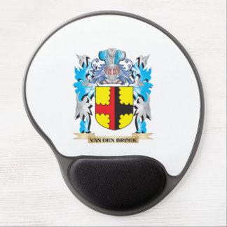 Van-Den-Broek Coat of Arms - Family Crest Gel Mouse Pad
