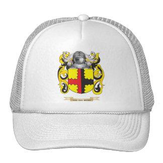 Van Den Broek Family Crest (Coat of Arms) Hat