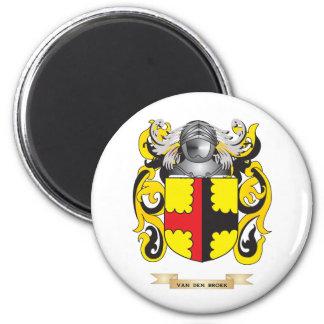 Van Den Broek Family Crest (Coat of Arms) Fridge Magnet