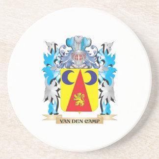 Van-Den-Camp Coat of Arms - Family Crest Beverage Coaster