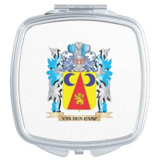 Van-Den-Camp Coat of Arms - Family Crest Vanity Mirrors