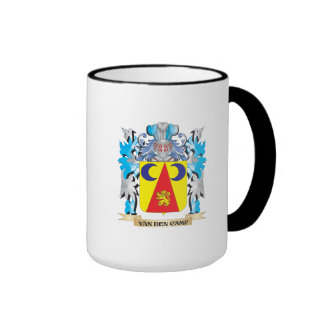 Van-Den-Camp Coat of Arms - Family Crest Ringer Mug