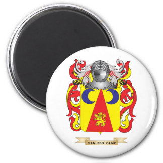 Van den Camp Family Crest (Coat of Arms) Fridge Magnet