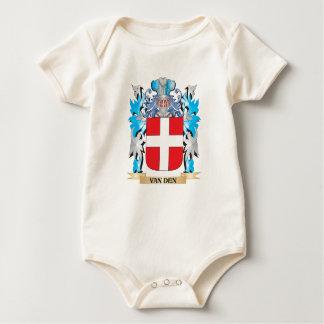 Van-Den Coat of Arms - Family Crest Baby Creeper
