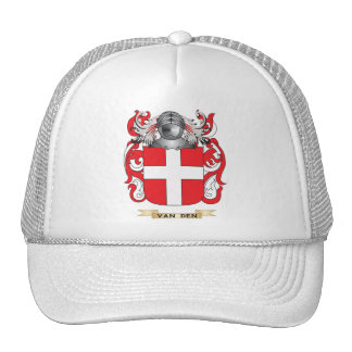 Van Den Family Crest (Coat of Arms) Hats
