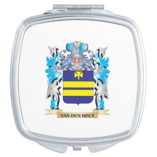 Van-Den-Hout Coat of Arms - Family Crest Compact Mirror