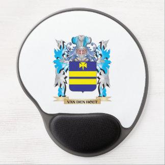 Van-Den-Hout Coat of Arms - Family Crest Gel Mouse Pad