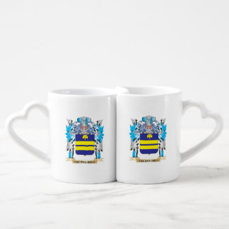 Van-Den-Hout Coat of Arms - Family Crest Couple Mugs