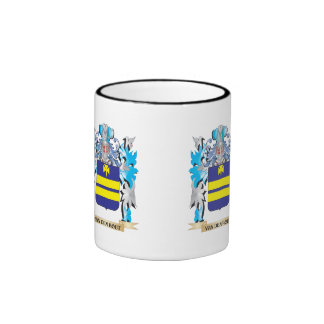Van-Den-Hout Coat of Arms - Family Crest Ringer Mug