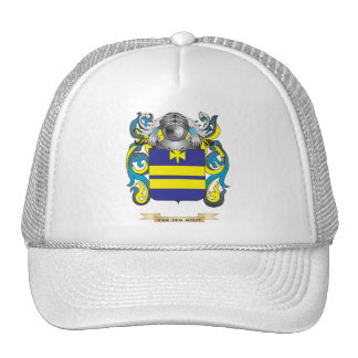 Van den Hout Family Crest (Coat of Arms) Hat