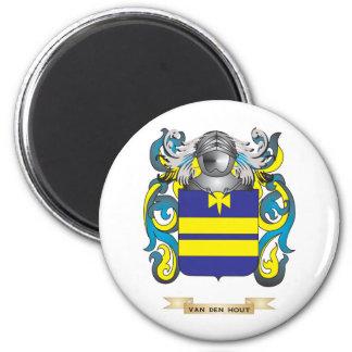 Van den Hout Family Crest (Coat of Arms) Magnet