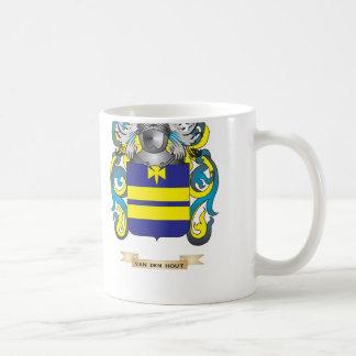 Van den Hout Family Crest (Coat of Arms) Mugs