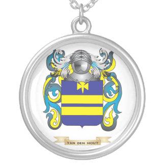 Van den Hout Family Crest (Coat of Arms) Pendants
