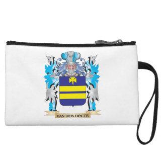 Van-Den-Houte Coat of Arms - Family Crest Wristlet Purse