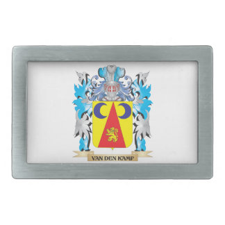 Van-Den-Kamp Coat of Arms - Family Crest Belt Buckles