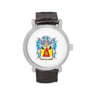 Van-Den-Kamp Coat of Arms - Family Crest Wrist Watches