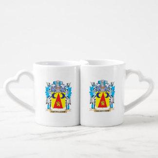Van-Den-Kamp Coat of Arms - Family Crest Lovers Mug Sets