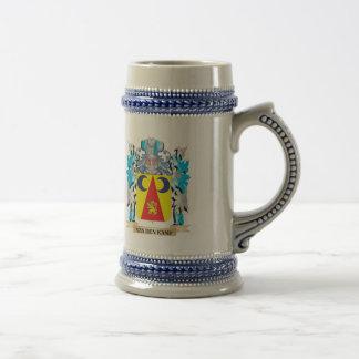Van-Den-Kamp Coat of Arms - Family Crest Beer Steins