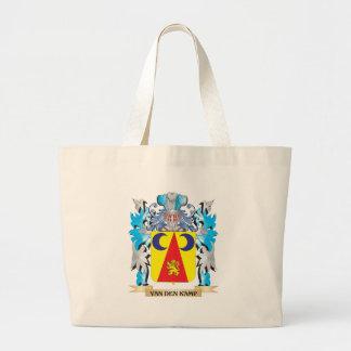 Van-Den-Kamp Coat of Arms - Family Crest Tote Bags