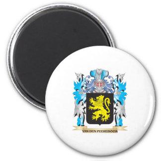 Van-Den-Peereboom Coat of Arms - Family Crest 6 Cm Round Magnet