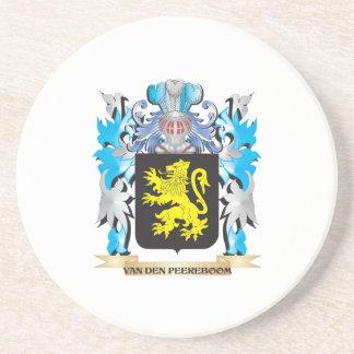 Van-Den-Peereboom Coat of Arms - Family Crest Coasters