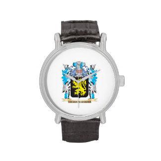 Van-Den-Peereboom Coat of Arms - Family Crest Wrist Watches