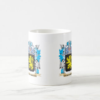 Van-Den-Peereboom Coat of Arms - Family Crest Basic White Mug