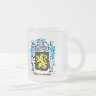 Van-Den-Peereboom Coat of Arms - Family Crest Frosted Glass Mug